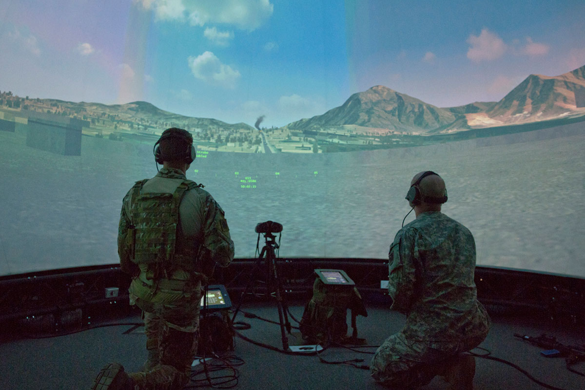 JTAC training featuring ASTi panels/U.S. Air Force photo