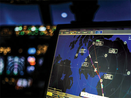 Image of a radar screen